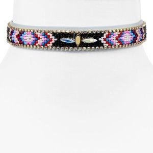 Nwt Rebecca minkoff jeweled chocker